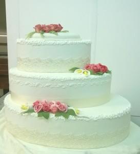 Esempio di torta per nozze