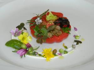 Pomodoro Pachino,burrata e sapori e colori mediterranei (10)