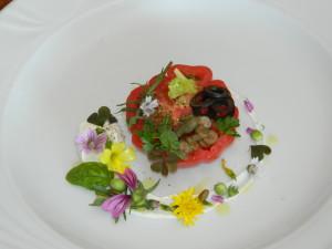 Pomodoro Pachino,burrata e sapori e colori mediterranei (6)
