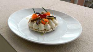 Sialda quinoa e mais con crema di soia e ortaggi